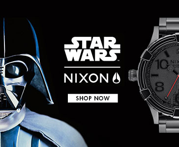 New Star Wars Watches from Nixon