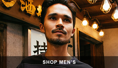 Shop men's apparel, accessories, and shoes.