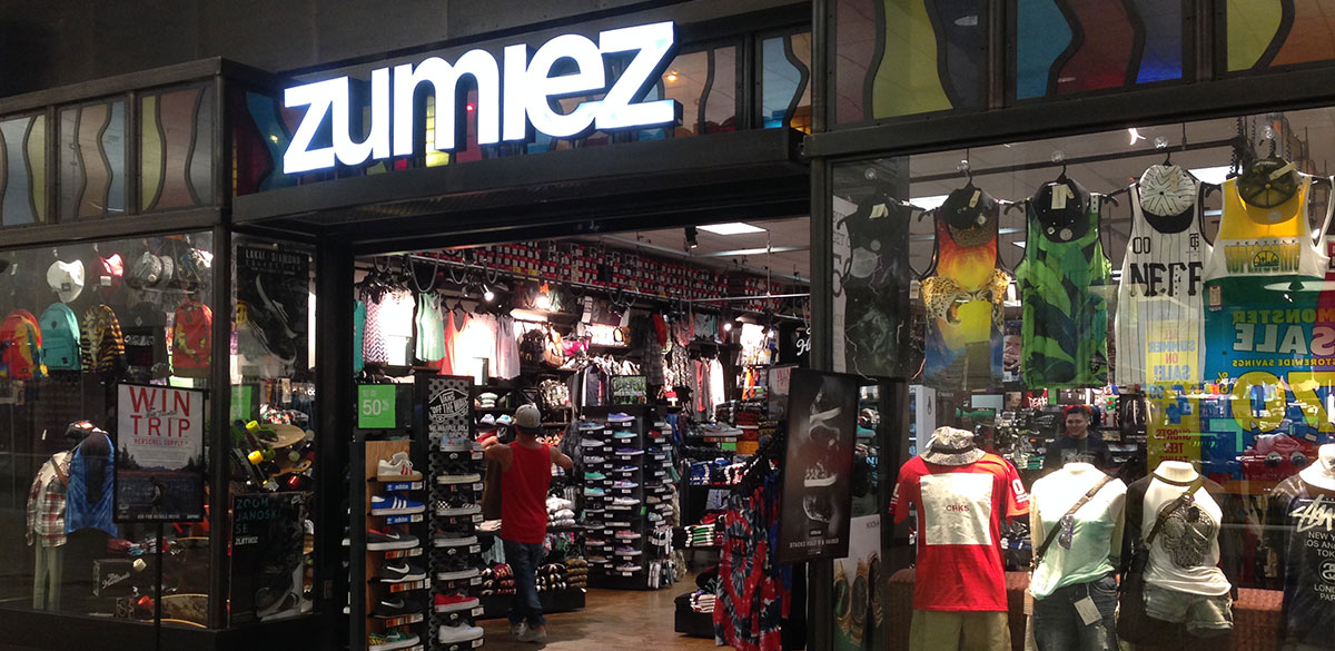 Zumiez Valley Mall