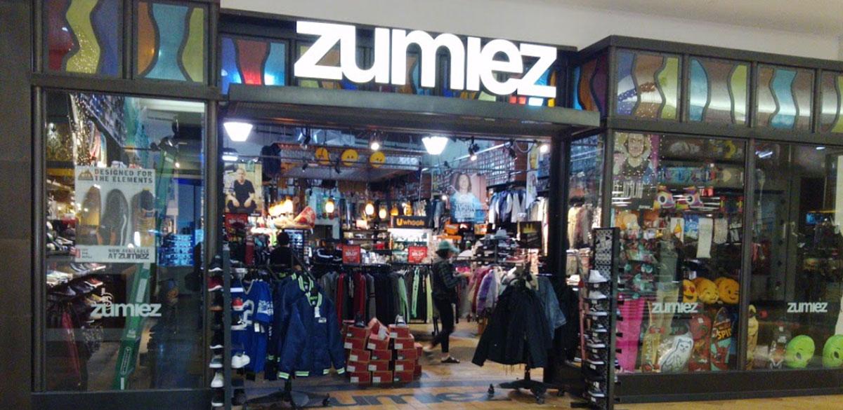 Zumiez Westfield Capital Mall in Olympia, WA Zumiez  Zumiez