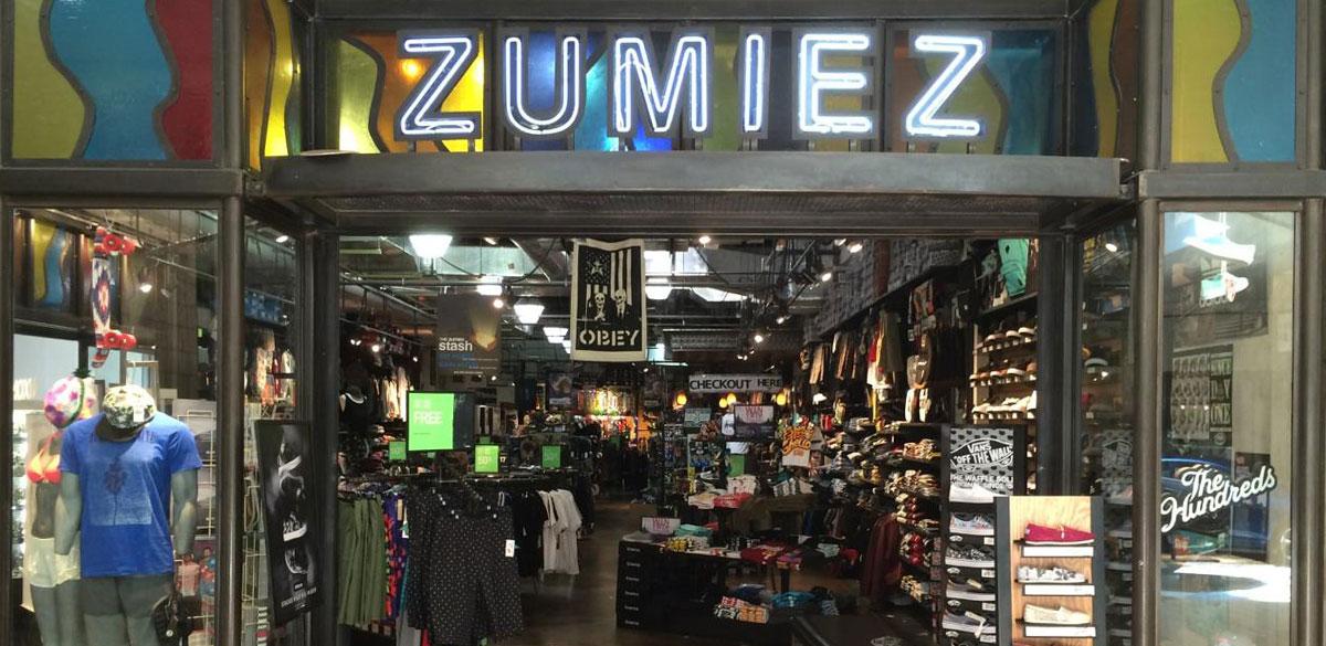 Zumiez Rogue Valley Mall In Medford Or Zumiez