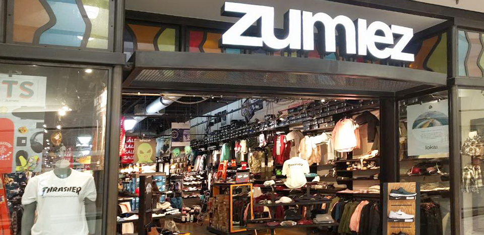 Zumiez Stoneridge Mall