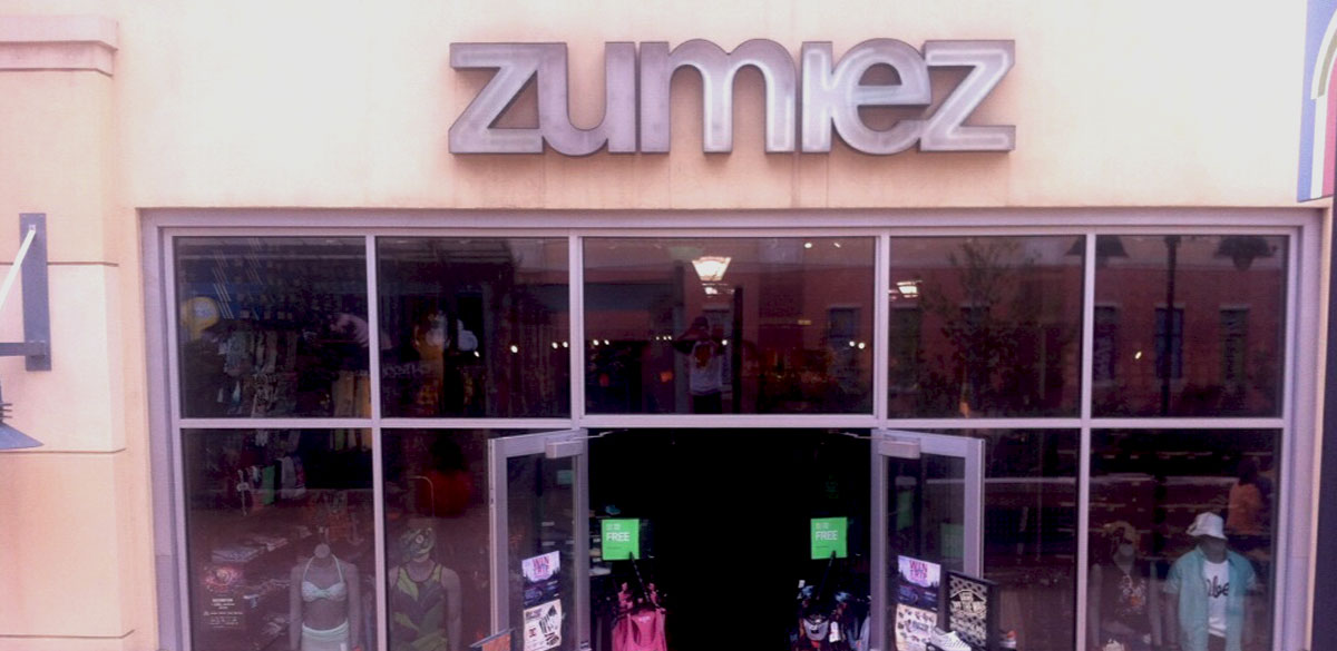 Zumiez Spokane Valley Mall