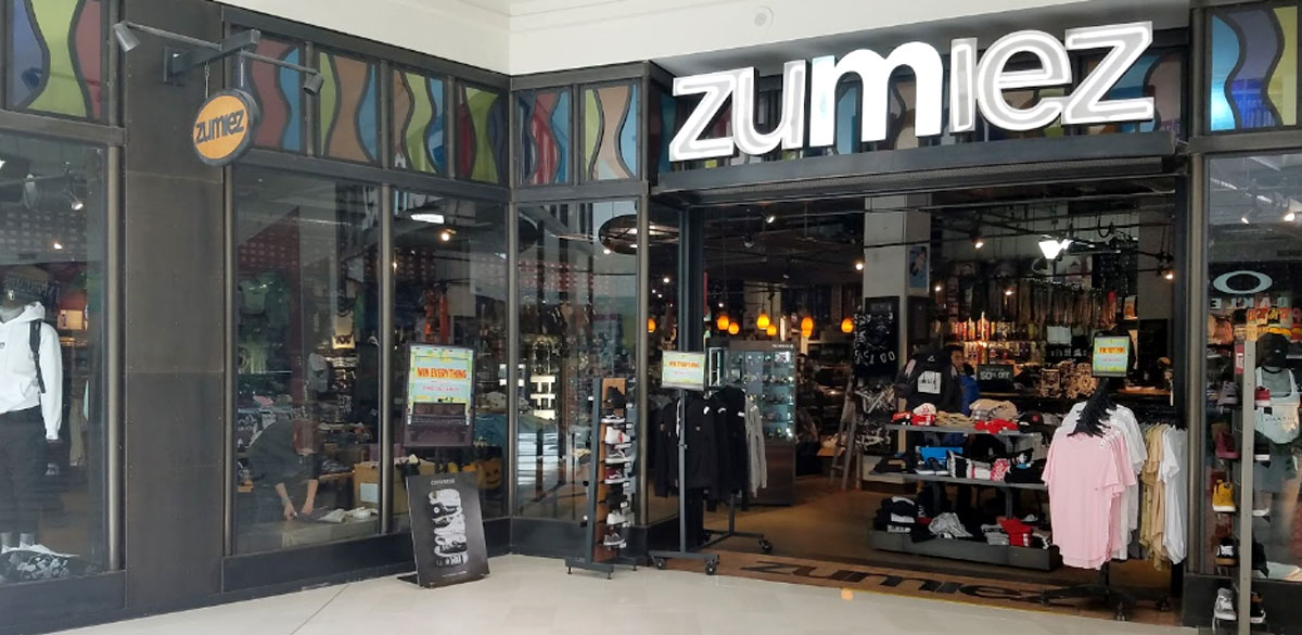 200a1490b Zumiez - Mall of America in Bloomington