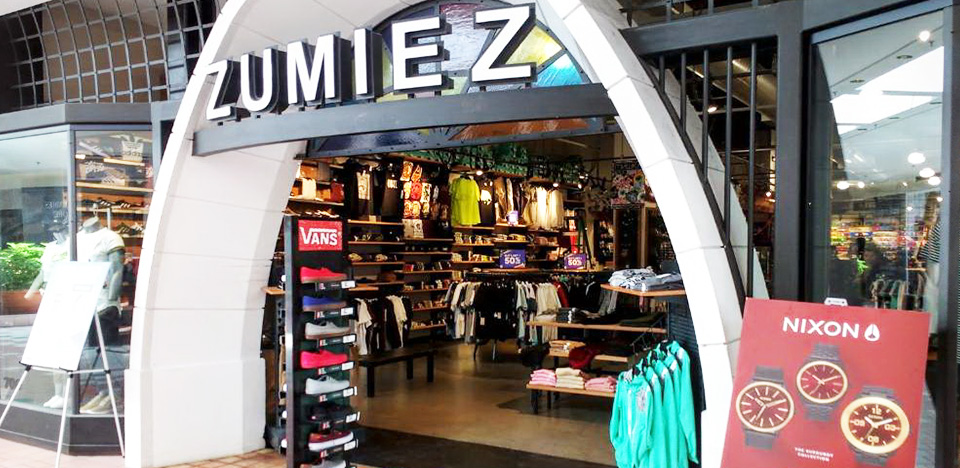 Zumiez The Marketplace Mall