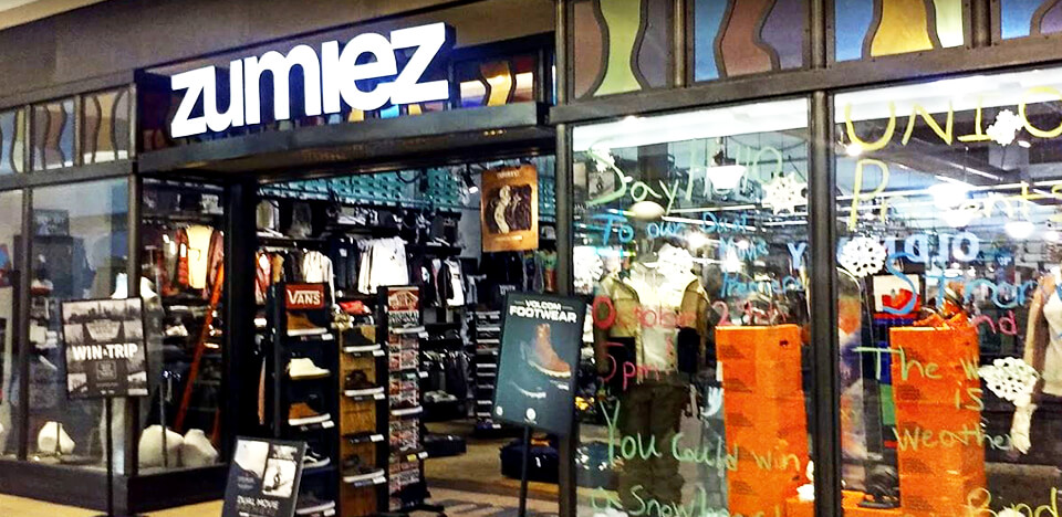 Zumiez Ocean County Mall