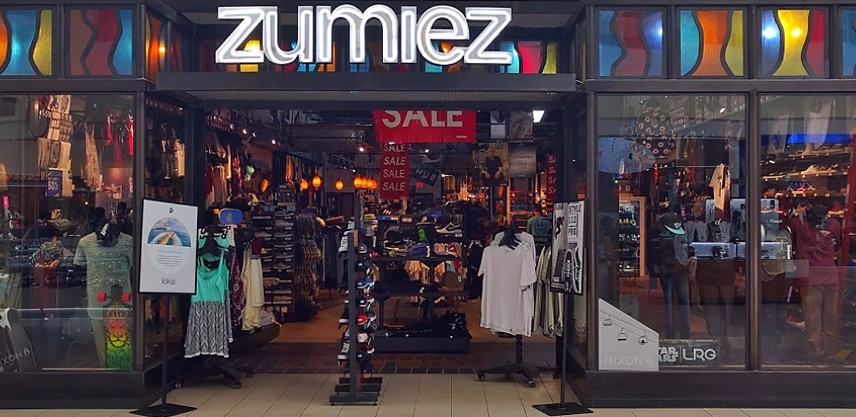 Zumiez Treasure Coast Square In Jensen Beach Fl Zumiez