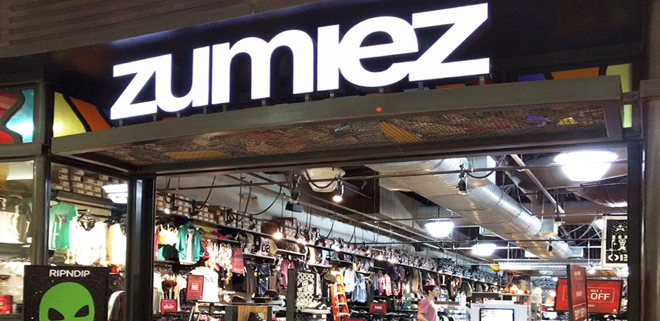 Zumiez Northridge Fashion Ctr.