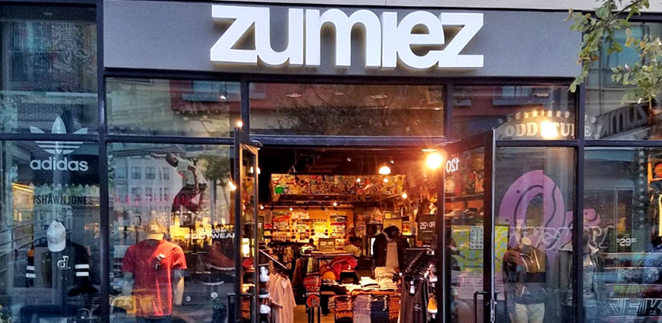 Zumiez the domain