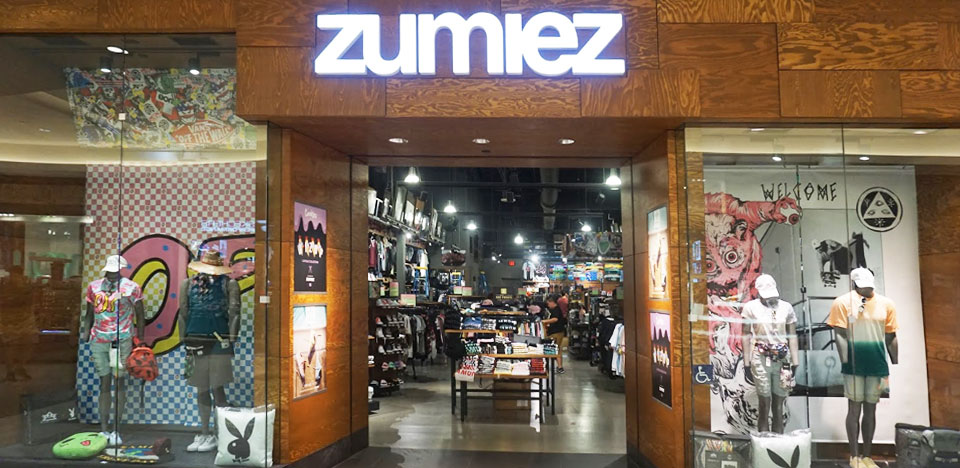 Zumiez Del Amo Fashion Center