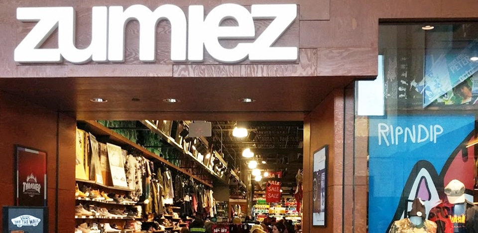 Zumiez Cherry Hill Mall