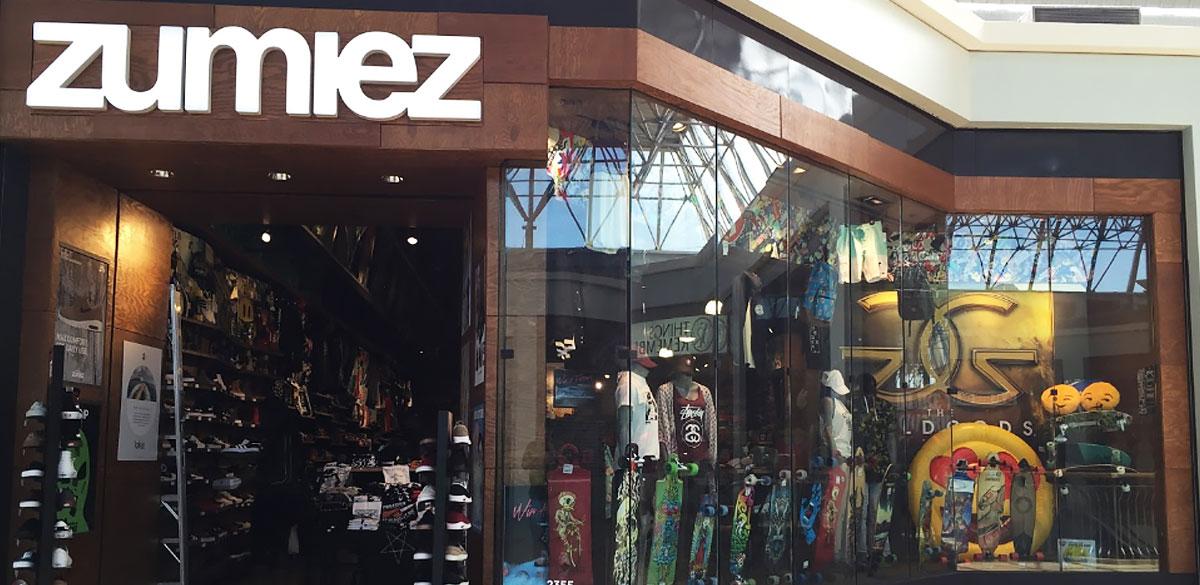 Zumiez The Mall In Columbia In Columbia Md Zumiez