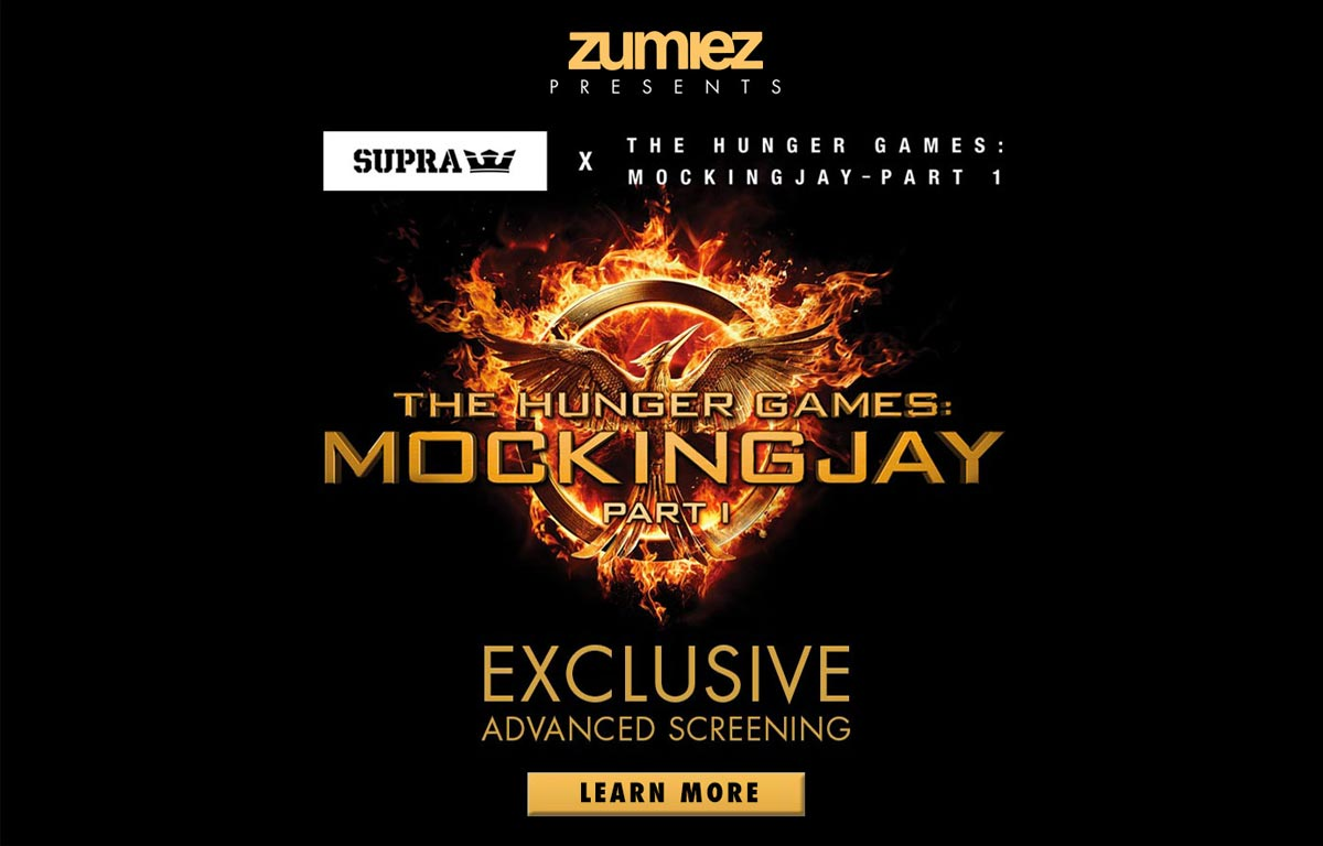zumiez presents supra hunger games