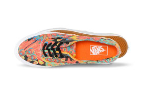 Vans Women's Authentic Slim Peacock & True White Shoe