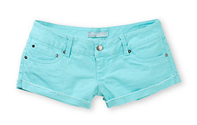 Empyre Dani Blue Radiance Denim Shorts