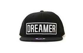 Glamour Kills Dreamer Black Snapback Hat