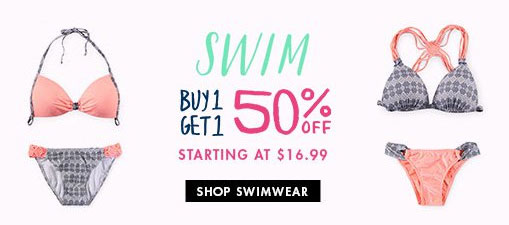 Womens Swimwear - BOGO 50