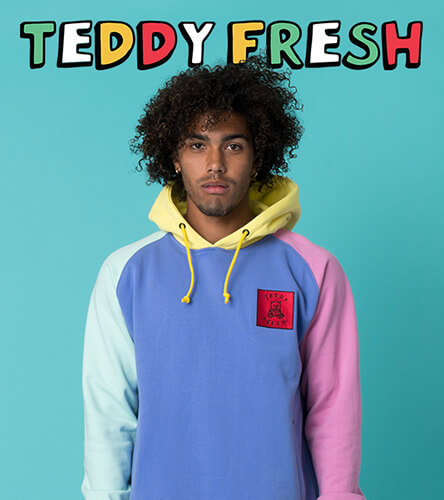 Shop men's hoodies for a large selection of men's hooded sweatshirts from many of your favorite brands. Featuring Teddy Fresh you are sure to find a hoodie that fits your style.