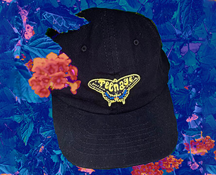 Shop hats at Zumiez featuring the black Metamorphosis strapback hat in black from Teenage.