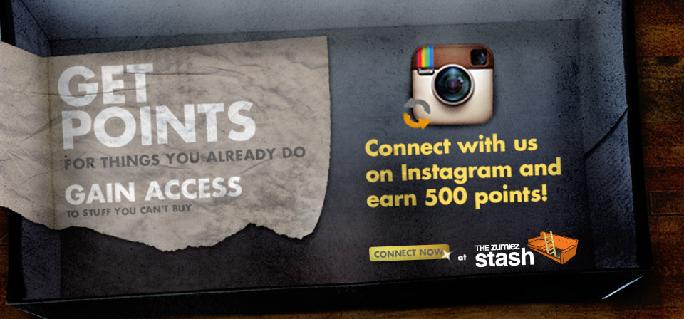 Connect with us on Instagram and earn 500 points