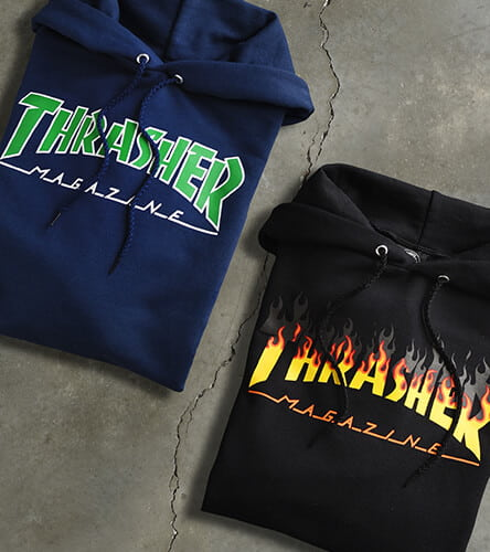 Thrasher graphic hoodies