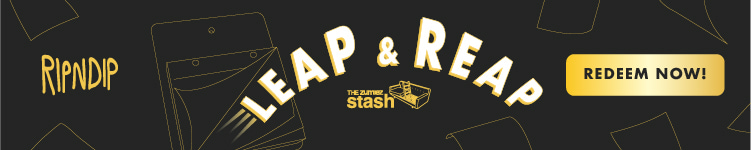 RIPNDIP. Use points to redeem new rewards for Leap and Reap with The Zumiez Stash.