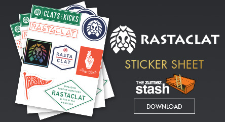 Rastaclat Printable Sticker Sheet