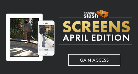 April Stash Screens - CONS