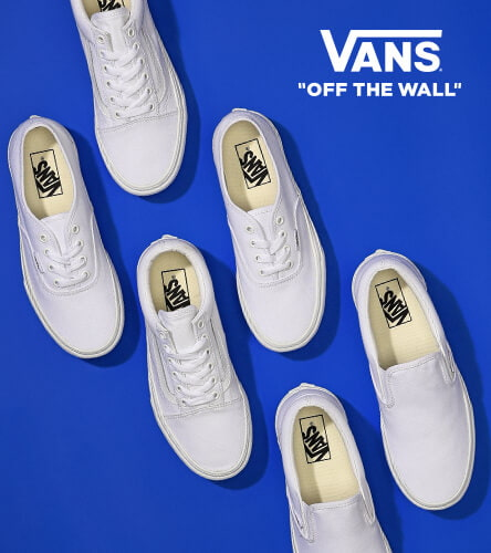 Clean white platforms in the top Vans styles  Old Skools 29a465da72e