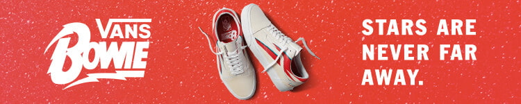 Vans & David Bowie Shoe & apparel collection