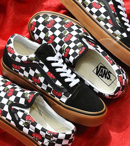 Vans Cherry Check Shoes