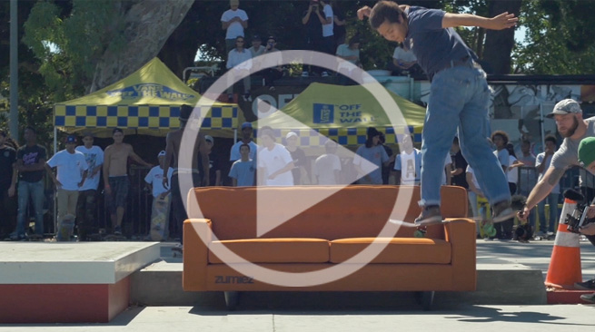 Zumiez Presents Vans - Built Rowley Strong - Cherry Park