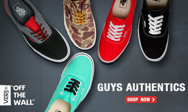 Vans Guys Authentics