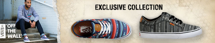 Vans Exclusive Native print