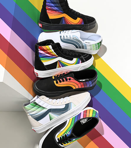 Shop all shoes from Vans featuring the new Refract collection
