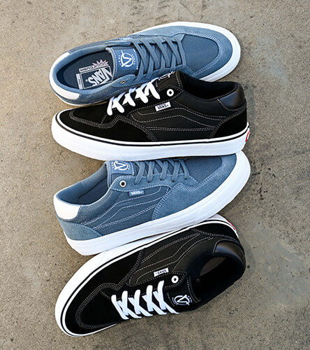 Skate shoes featuring Vans