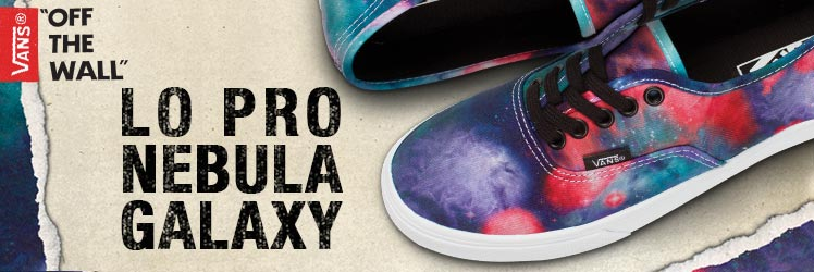 vans nebula galaxy shoe