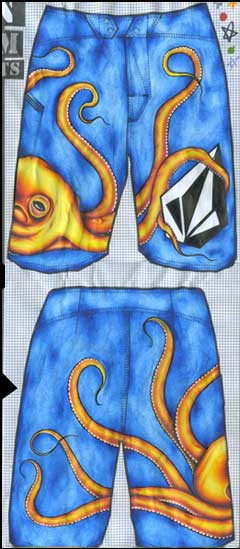 Volcom Design Your Own Boardshorts Winners