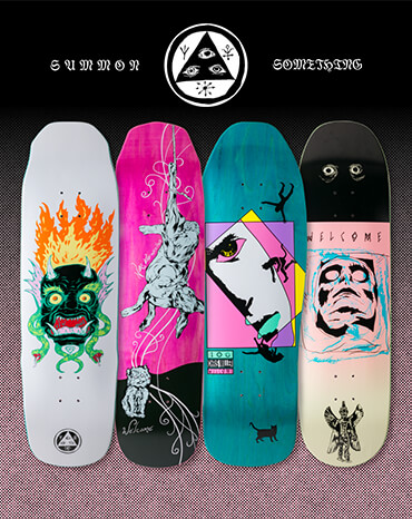 Welcome Skate Decks