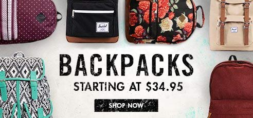 Shop All Womens Backpacks