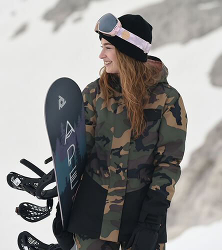 Women's outerwear at Zumiez with exclusive and branded snow jackets, snow pants, and tech fleece.