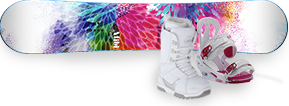 Women's Snowboard Packages