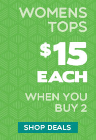 Womens Tops $15 each - when buying 2