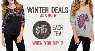 Winter Deals - Tops & Bottoms