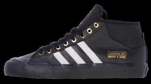 adidas Snoop x Gonz Matchcourt Mid Black/Gold