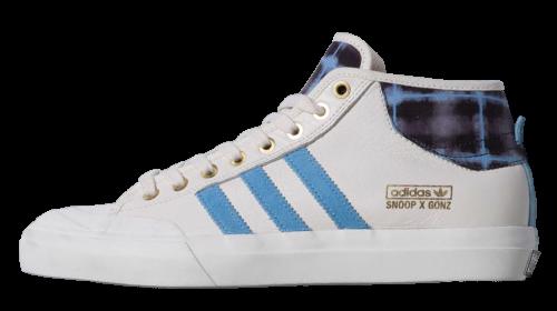 adidas Snoop x Gonz Matchcourt Mid White/Blue