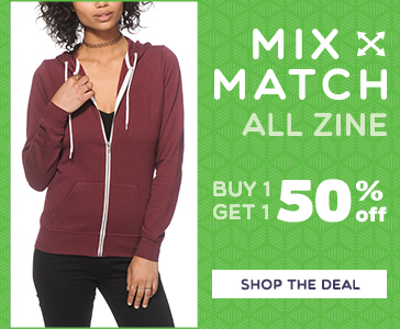 Womens Mix and Match - Get 50% off Second item - Zine