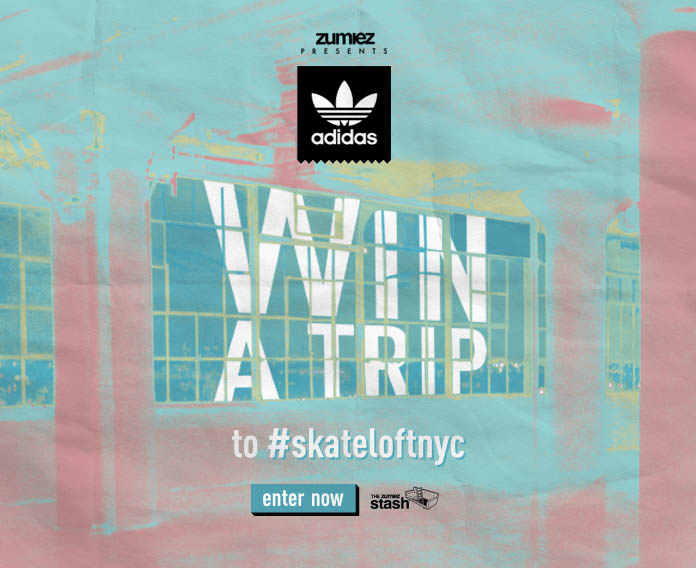 Zumiez Presents: adidas. Win a Trip to #skateloftnyc.
