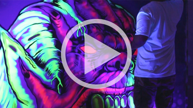 Zumiez Presents Mishka Interactive Art Party