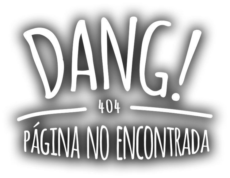 ¡Dang! 404 Página no encontrada.